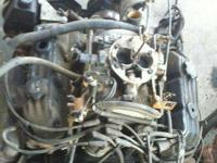 2000 Dodge Dakota 3.9 Liter Engine  ALL BODY PARTS ARE
