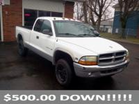 Look into our 2000 Dakota Sport Extended Cab ... This