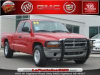 Options Included: 2WD, 3.9 Liter, Air Conditioning,