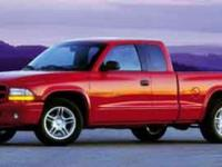 Options:  2000 Dodge Dakota|Blue/|V8 4.7L