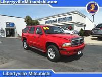 Options:  2000 Dodge Durango Slt|Red|4Wd. 2000 Dodge