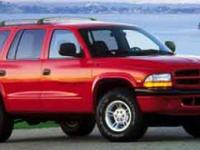 Durango trim. Alloy Wheels. AND MORE!======KEY FEATURES