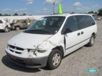 Options Included: N/ADodge Grand Caravan Van V6 3.0L -