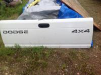 2000 era dodge tailgate. Asking $75 obo