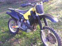 I have a 2000 Suzuki drz 400 for sale. I hate to sell