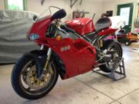 Make: Ducati Model: Other Mileage: 9,820 Mi Year: 2000