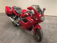 This 2000 Ducati ST4 looks and runs terrific. It has