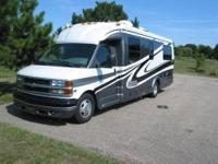 Loaded 28' RV with Air suspension ride. Always well