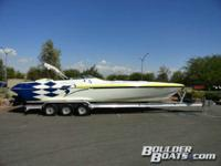 Featuring: Twin Mercruiser 496 Mag HO's 425 HP with