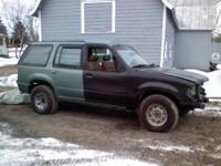 2000 Explorer with 1997 Limited body. Yes only 3900