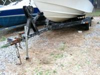 2000 EZ Loader Homemade Trailers 18ft Homemade Boat