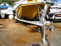 18ft Shoreline Trailer ready for the water. This