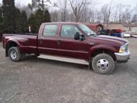 2000 Ford F350 XLT Crew Cab Diesel Dually 4x4 with 7.3