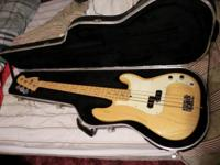 Near Mint 2000 Fender Precision Bass guitar and near