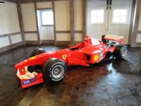 2000 Ferrari Formula One race car, S/N 204 as prepared