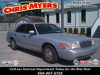 Options Included: N/AINTERCEPTOR PACKAGE CROWN VIC,