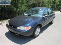 EPA 35 MPG Hwy/27 MPG City! Escort trim. CLICK