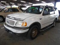 Call: 2000 Ford Expedition XLT 4.6 L V8 TRITON engine,