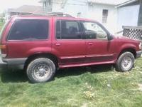 2000 Ford Explorer for sale.A/C and heater works