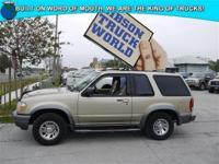 WWW.GIBSONTRUCKWORLD.COM*2000 Ford Explorer Sport XLT*