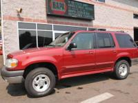 4X4 XLT w/ Leather! 2000 Ford Explorer, equipped with a