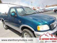 This 2000 Ford F-150 F-150 has a 5.4 liter 8 Cylinder