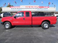 Exterior Color: red clearcoat, Body: Extended Cab