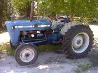 this is a 70's 2000 ford tractor.....with remote