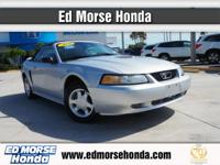 Check out this gently-used 2000 Ford Mustang we