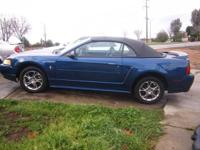 2000 FORD MUSTANG CONVERTIBLE AUTOMATIC 6 CYLINDER