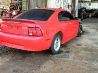 I am selling parts off of a wrecked 2000 mustang.  The