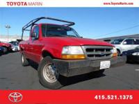 This Ford Ranger has a great looking exterior! Call us