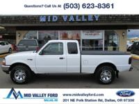 2000 FORD RANGER XLT SUPERCAB EQUIPPED WITH HARD