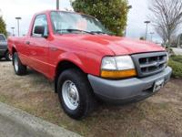 Exterior Color: red, Body: Regular Cab Pickup, Engine: