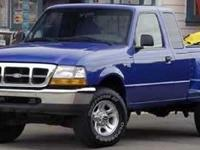 4X4! Short Bed! 2000 Ford Ranger XLT 4WD. If you demand