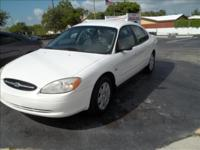 Options Included: N/A2000 FORD TAURUS 4DR LX VERY