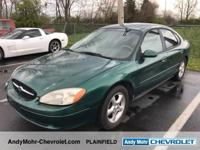 Ford Taurus      28/19 Highway/City MPG    Come see the