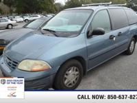 Exterior Color: blue, Body: Mini-Van, Fuel: Gasoline,