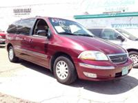 2000 Ford Windstar Van: V6 engine Automatic