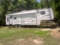 2000 Forest River Sierra M-31RKSS 5th Wheel. Length