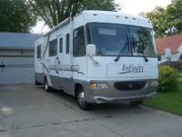 2000 Infinity Class-A Motorhome, developed by Thor.