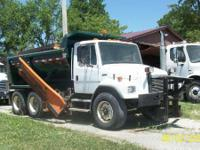 Unit has 10ft snowplow with 8ft wing and 14ft bed with