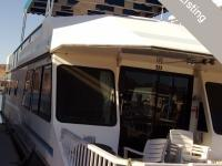 Each 59' x 14' Deluxe houseboat sleeps 10 comfortably,