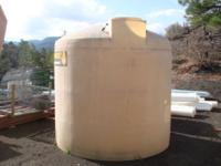 2000 GALLON & 2500 GALLON STORAGE TANKS. 250.00 EACH.