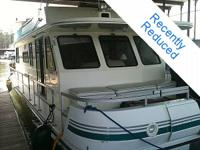 2000 Gibson 470 Executive Houseboat For Sale !!! - used