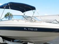 2000 Glastron GX 225 comes standard with SSV hull
