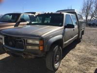 Make: GMC Year: 2000 Condition: Used Transmission: