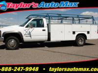 Options Included: 12'X8' Box, 4WD, Air Conditioning,