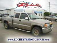 2000 GMC Sierra 2500 Ext Cab SLE with 97,935 miles.
