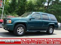 Options Included: This is one Sharp GMC Yukon 4x4